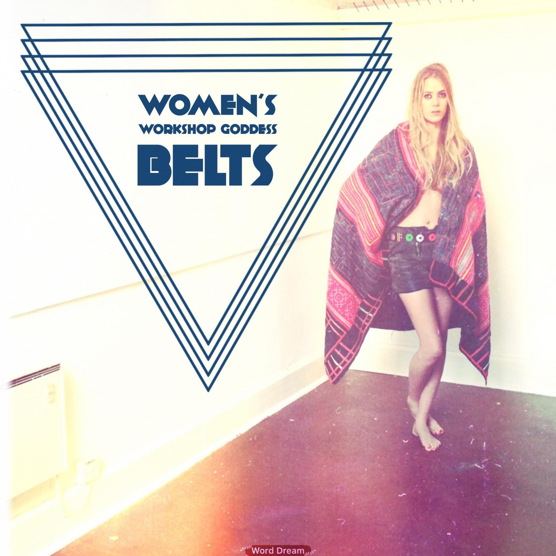 Womens Belts workshop