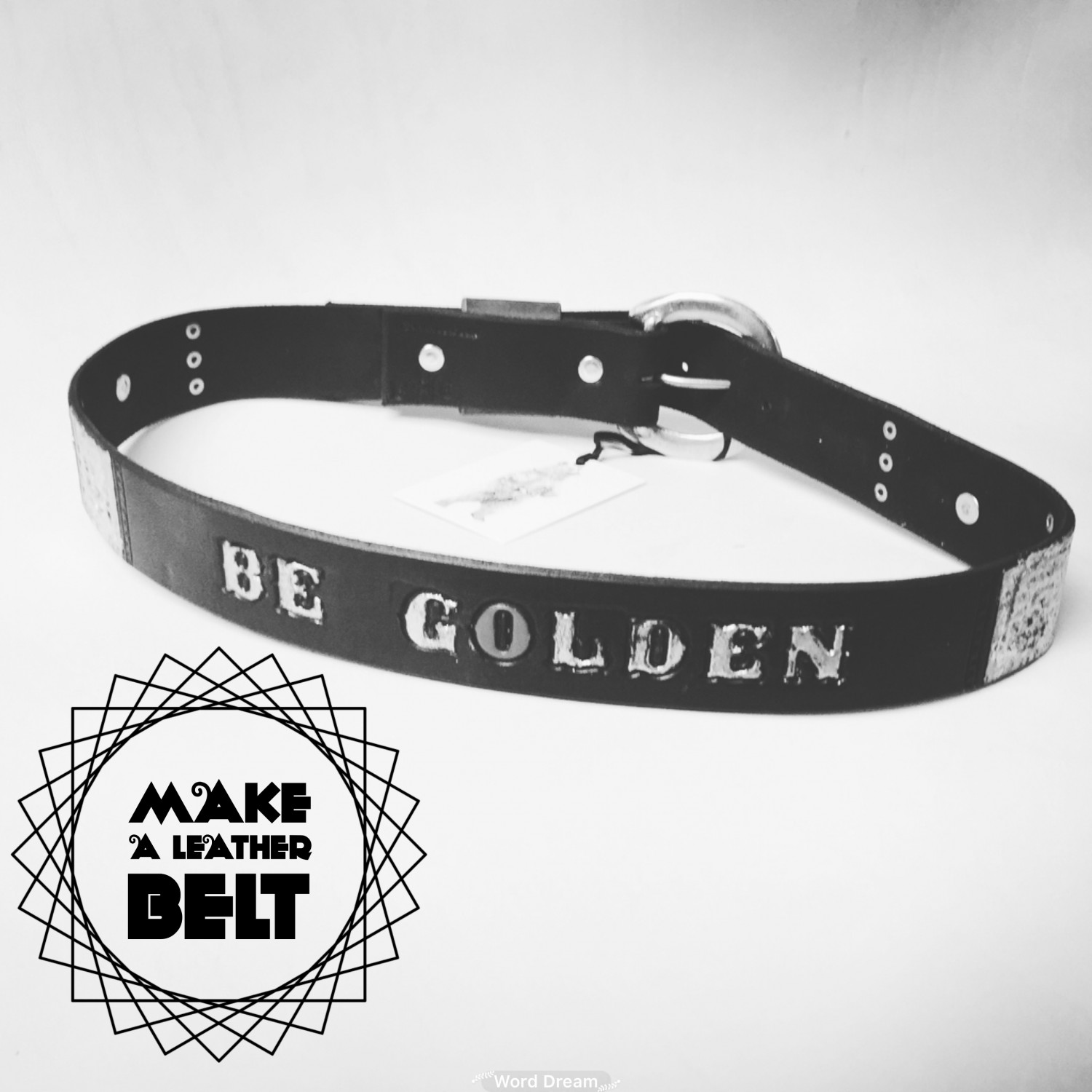 Golden Bear Belts - Make a Leather Belt