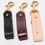 Belt Loop Key Chain - Golden Bear Belts