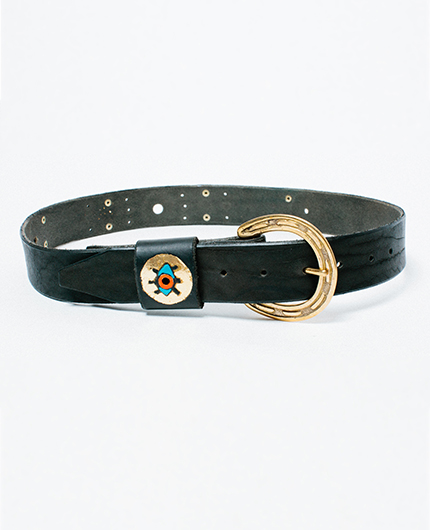 Metallic Rising Eye - Golden Bear Belts