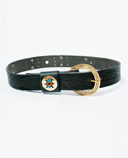 Metallic Rising Eye - Golden Bear Belts