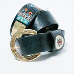 Black Gold Belt - Golden Bear Belts