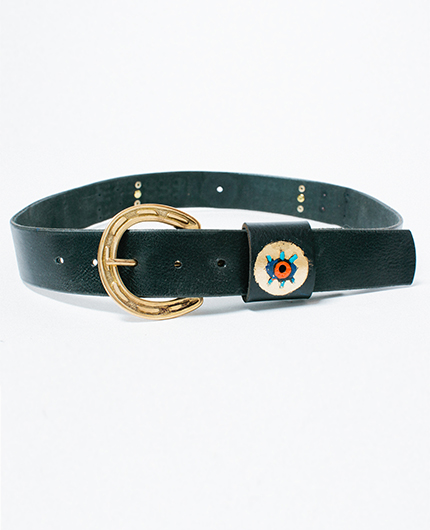 Black Gold Belt - Golden Bear Belts