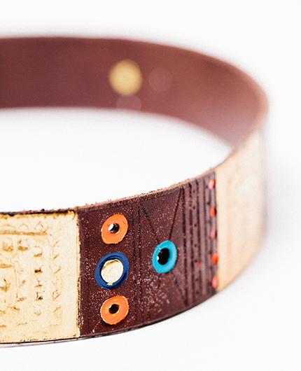 Sacred Squares - Golden Bear Belts