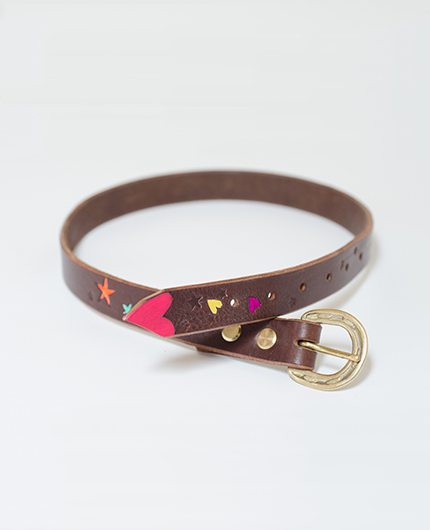 Love Heart Kids Belt GBB